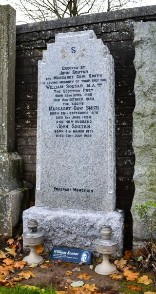 refurbished gravestone